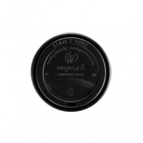 VEGWARE BLACK COMPOSTABLE...