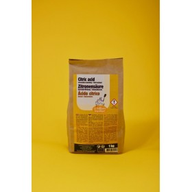 Citric acid, 1kg kraft bag