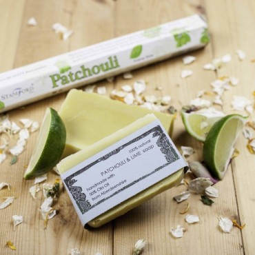 Patchouli and Lime Soap (125g)