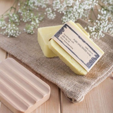 Pure Unscented Soap (125g)