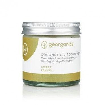Natural Mineral-rich Toothpaste Fennel